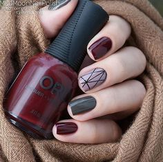 stunning nail designs for your next manicure Fancy Nails, Love Nails, Pretty Nails, Autumn Nails, Winter Nails, Nails Polish, Manicure E Pedicure, Nail Arts, Nails Inspiration