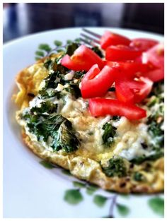 Kale and Parmesan Frittata || Aggie's Kitchen