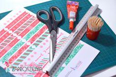 Zaproszenia na każdą okazję: DIY - Chorągiewki Świąteczne do samodzielnego wyko...