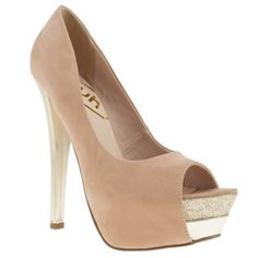 Women's Pale Pink Schuh Hot Lips at Schuh