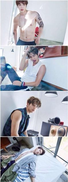 CNBlue 2gether promotion shots (fake tats)