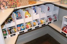 15 Tricks In Under 5 Minutes To Make Your Pantry The Most Organized On The  Block! Get It Done Fast! Canned Food StorageCanned ...