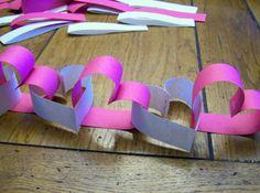 Mooie slinger om te maken voor een bruiloft of valentijnsdag.