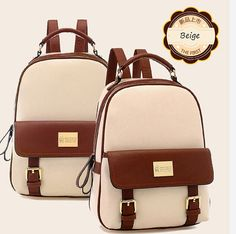 Cheap bag gu, Buy Quality bag image directly from China bag felt Suppliers: Mochila Rushed New 2015 Fashion Women Backpacks Patchwork Bear Girl Student School Bags Pu Leather Travel Rucksack Fre Fashion Bags, Fashion Backpack, Fashion Women, Asian Fashion, Fashion Handbags, Fall Fashion, Bts Bag, Faux Leather Backpack, Pu Leather