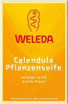 Weleda Calendula Pflanzenseife Saponetta alla calendula