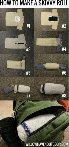 Paquete de ropa