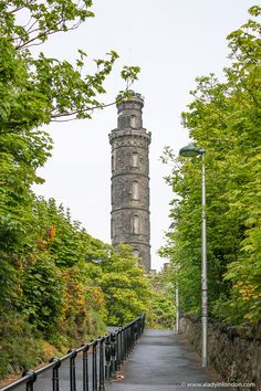 This is a monument to Lord Nelson on Calton Hill in Edinburgh, Scotland. This guide to 1 day in Edinburgh, Scotland will show you an Edinburgh 1 day itinerary for your UK trip. From Edinburgh Castle to the Royal Mile and Calton Hill, it has all the best things to do in Edinburgh. #edinburgh Edinburgh Travel, Edinburgh Castle, Edinburgh Scotland, Edinburgh Photography, Uk Trip, Cool Places To Visit, Trip Planning, The Good Place, Things To Do
