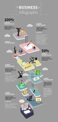 Nice Business Infographic — Vector EPS #infographic #world map • Available here ... http://dougleschan.com