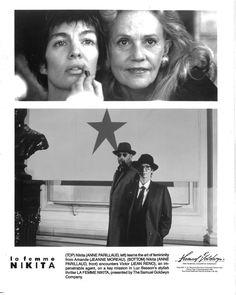 Jeanne Moreau, Anne Parillaud Jean Reno Le Femme Nikita