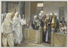 The Chief Priests Ask Jesus by What Right Does He Act in This Way, by James Tissot