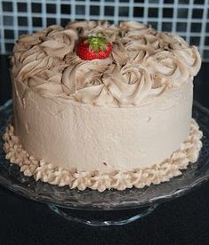 Cake Recipes, Dessert Recipes, Desserts, Norwegian Food, Norwegian Recipes, Fancy Cakes, Let Them Eat Cake, Frosting, Nom Nom