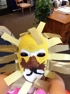 Easy lion king craft