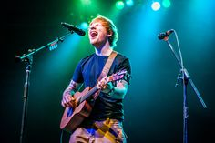 The Hottest Live Photos of 2014 Pictures - Ed Sheeran | Rolling Stone