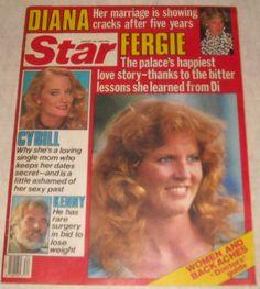 August 1986 Sarah Ferguson