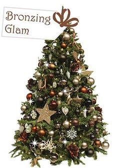 Bronzing Glam, Versierde Kerstboom, Gedecoreerde Kerstboom, Kerstboom Huren, Kersttrends, Kerstversiering, Kerst, Kerstaankleding, Kerstdecoratie, www.versierdekerstboom.nl