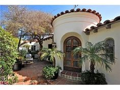 2510 Chislehurst Pl, Los Angeles, CA 90027 — Serene  enchanting Spanish villa circa 1929 located on one of Los Feliz best streets. 4 bed + 3.5 ba +2 fp Courtyard entry, city views, original Malibu tile, wood floors, stained glass and iron details. Living room with beamed ceilings, French doors to patios and waterfall spa. Media/screening room with original bar. Library/study and terraced grounds with gazebo. Video entry system with security camera surveillance.