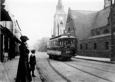 South Road, Walkley looking towards Tram No. 160 and St. My Family History, Local History, Sources Of Iron, Sheffield City, My Town, Derbyshire, Coventry, Public Transport, Black History