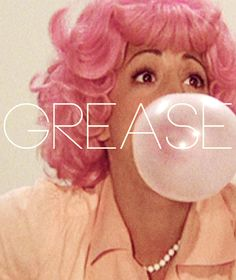 Love that pink hair! Grease - second only to Gone with the Wind in my top movies! Dirty Dancing, Film Music Books, Music Tv, Pulp Fiction, Love Movie, I Movie, Movies Showing, Movies And Tv Shows, Grease 1978