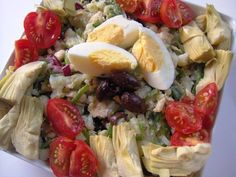 Salade Nicoise with a Twist (SCD, GFCF)