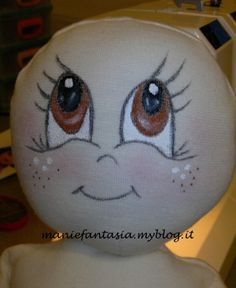 Eye Painting, Doll Painting, Bleach Pen Designs, Doll Face Paint, Handmade Angels, Kawaii Faces, Magnolia Stamps, Doll Eyes, Sewing Dolls