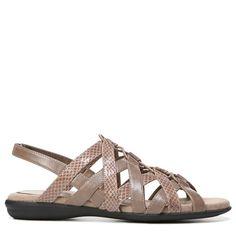 Lifestride Women's Behave Lace Up Sandals (Mushroom)