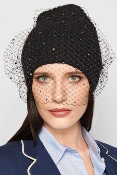 e72118188d083 Jennifer Behr - Crystal Voilette Embellished Angora And Merino Wool-blend  Beanie - Black - StylishOffer