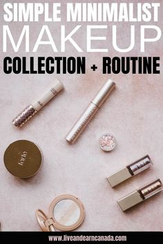 Here is how to create a simple minimalist makeup collection. Here is what to include in your makeup storage collection. Every beauty product to include in your minimalist makeup collection! Minimalist Makeup, Minimalist Beauty, Simple Makeup Tips, Basic Makeup, Good Beauty Routine, Makeup Routine, Fashion Tips For Women, Fashion Ideas, Fashion Outfits