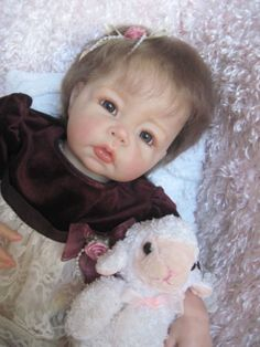 Elly-Knoops-LUCA-Reborn-Baby-Girl-Doll-3-4-Limbs-One-of-a-Kind-OOAK-Adorable