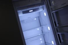 Siemens built-in refrigeration products on display at Spillers of Chard the UK's Premier Kitchen Destination. Wine storage, fridges and freezers all live and on display.