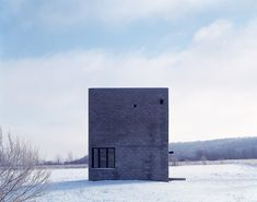 Cube House by Simon Ungers