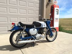 1961 Honda Super Sport Benly CB92 125cc w/4 speed Transmission