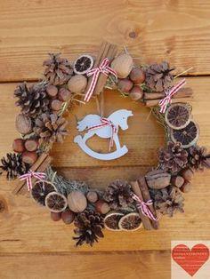 Ghirlanda natalizia di benvenuto di RomantikPony su Etsy Coupon code PIN10 for a 10 percent discount on Etsy shop till 31/12/2014