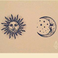 Ideas Tattoo Moon Back Sun - Ideas Tattoo Moon Back Sun Ideas Tattoo Moon Back Sun - Ideas Tattoo Moon Back Sun - Waterproof Temporary Tattoo Sticker Sun Moon Fake Tatto Flash Tatoo Tatouage Hand Foot Arm For Men Women Girl by . Trendy Tattoos, Love Tattoos, Beautiful Tattoos, Body Art Tattoos, New Tattoos, Tatoos, Celtic Tattoos, Tricep Tattoos, Wing Tattoos