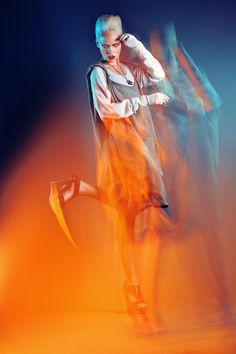 Fashion and beauty photographer Yulia Gorbachenko: On fire - Ego - AlterEgo Light Trail Photography, Blur Photography, Double Exposure Photography, People Photography, Beauty Photography, Portrait Photography, Fashion Photography, Collor, Identity