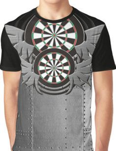 Flight Crew Darts Shirt Graphic T-Shirt