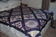 Assembling my Downton Abbey quilt