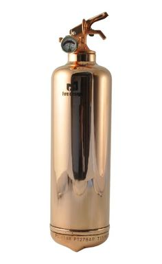 FIRE LUXE COPPER - FIRE DESIGN - Design fire extinguisher - Home Design Security and Decoration