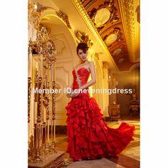 A-line floor-length watteau train beading sweetheart off the shoulder sleeveless empire chiffon prom dress