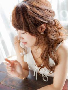 2016年最新版!結婚式お呼ばれヘアアレンジ・大人可愛い髪型特集!ハーフアップ・アップヘアー -page3   Jocee