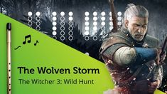Priscilla's Song / The Wolven Storm (The Witcher Wild Hunt) on Tin Whistle D + tabs tutorial Music Sheets, Sheet Music, Tin Whistle, The Witcher 3, Wild Hunt, Original Song, Songs, Film, Musica