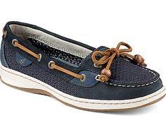Sperry Top-Sider Angelfish Cotton Mesh Slip-On Boat Shoe