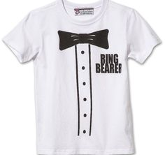 Ring bearer gifts will make the little boy in your wedding feel very special. Find a wide variety of ring bearer gifts including t-shirts, hats, sport items, duffles and much more. Ring Bearer Suspenders, Ring Bearer Shirt, Ring Bearer Gifts, Ring Bearer Outfit, Keepsake Rings, Honeymoon Gifts, Gifts For Wedding Party, Wedding Stuff, Flower Girl Gifts