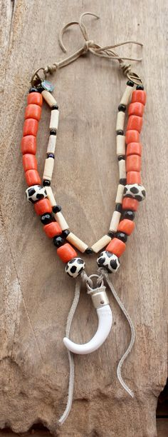 INDIAN SUMMER  African Bohemian necklace by DazzlingGypsyQueen