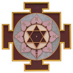 Yantra and Mandala Art by Mick & Pamela McDonough - Rahu Yantra