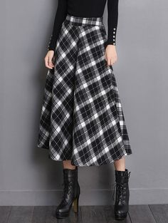 SHARE & Get it FREE | Midi Wool Tartan SkirtFor Fashion Lovers only:80,000+ Items • New Arrivals Daily • Affordable Casual to Chic for Every Occasion Join Sammydress: Get YOUR $50 NOW!