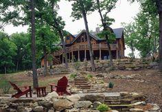 Shell Knob, MO Log Home #10584   Real Log Homes since 1963   Custom Log Homes   Log Home Floor Plans   Log Cabin Kits