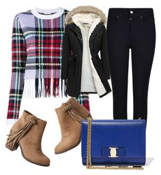 A fashion look from January 2016 featuring merino sweater, padded parka and slim skinny jeans. Browse and shop related looks. Giorgio Armani, Salvatore Ferragamo, Parka, Fashion Looks, Skinny Jeans, Slim, Sweaters, Polyvore, Shopping