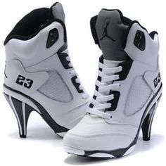 wholesale dealer b7db1 257c6 www.asneakers4u.com  Nike Air Jordan 5 High Heels White Black