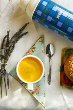 Nessa Robins' sweet potato soup and mighty muffins for loved ones in hospital Sweet Potato Soup, Lentil Soup, Robins, Lentils, Country Living, Irish, Muffins, Potatoes, Tableware