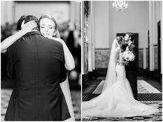 By Richmond VA photographers, Sarah & Dave Photography. Washington Dc Wedding, Dc Weddings, Fall Wedding, One Shoulder Wedding Dress, Glamour, Elegant, Wedding Dresses, Photography, Beauty